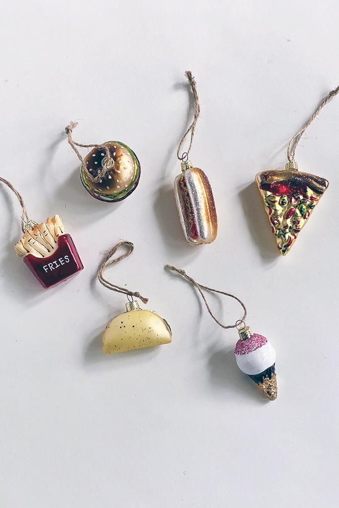Junk Food Ornament - Multiple Colors