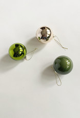 Cody Foster & Co Solid Glass Ornaments - Multiple Colors