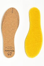 Toasties Insoles in Sheepskin and Cork - Multiple Colors