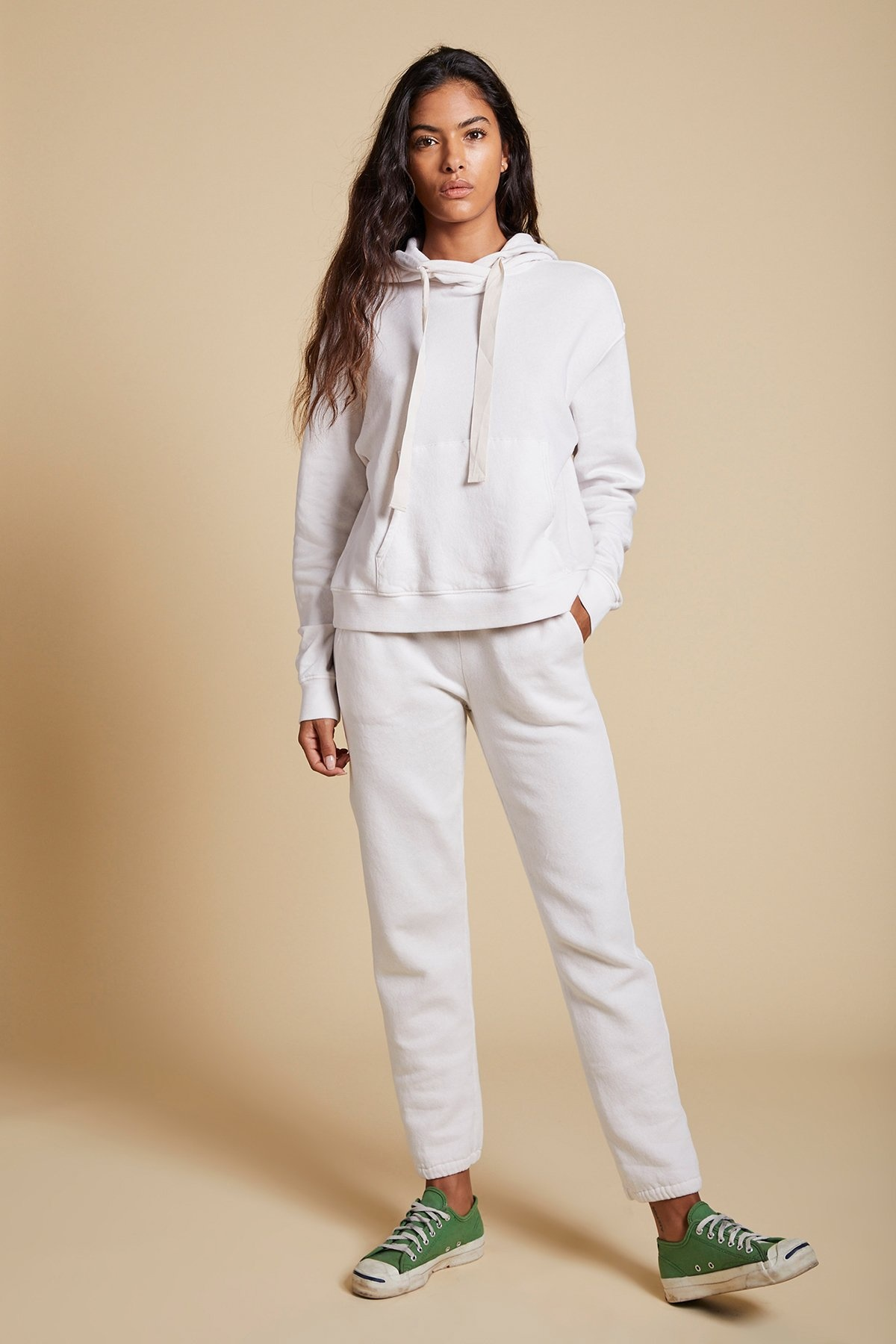 Velvet Cotton Fleece Ojai Hoodie