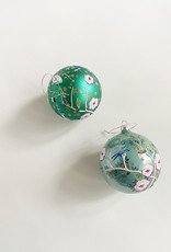 Cody Foster & Co Bird Bauble Green Orn