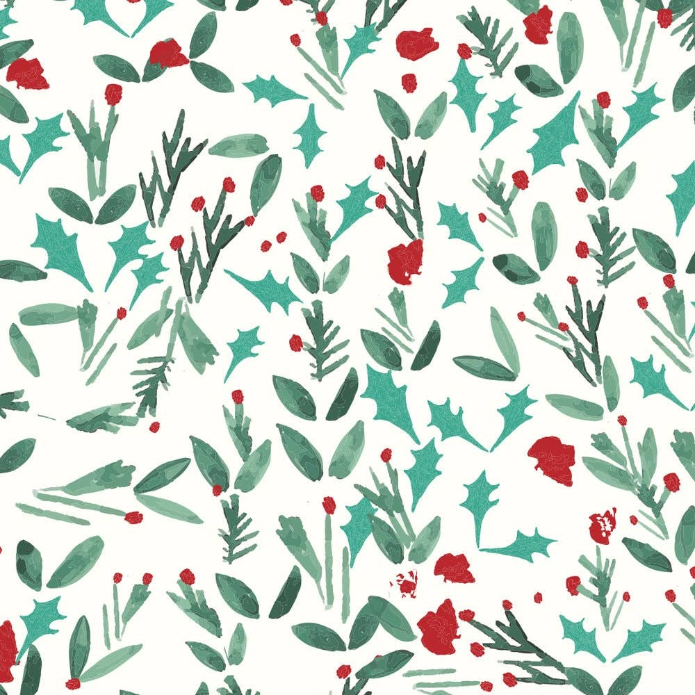 Mr. Boddington Cards Mistletoe Holiday Wrap