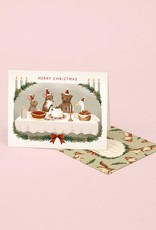Christmas Dinner Party Card