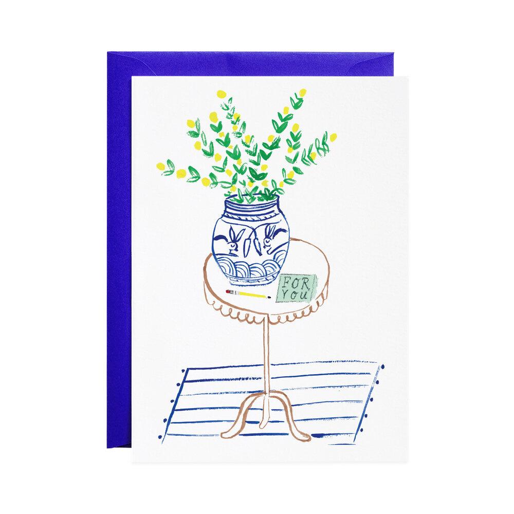 Mr. Boddington Cards For You Table Card