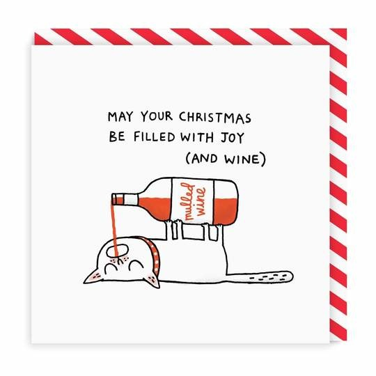 Mulled Wine Holiday Card