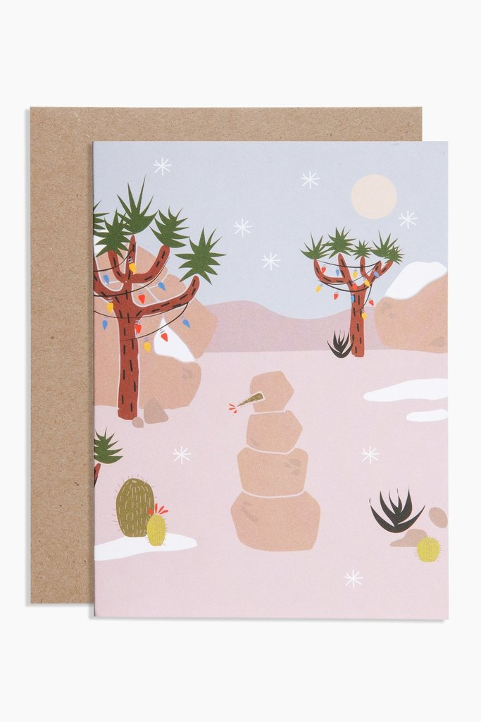 Poketo Joshua Tree Card
