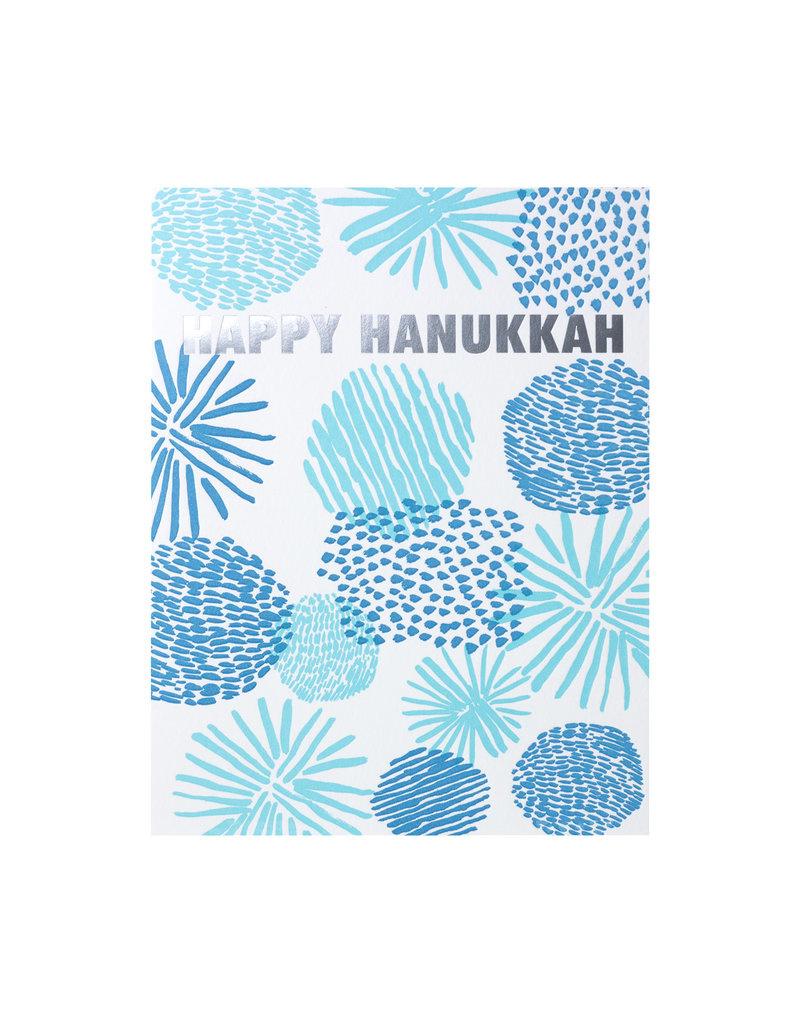 Happy Hanukkah Shapes Card