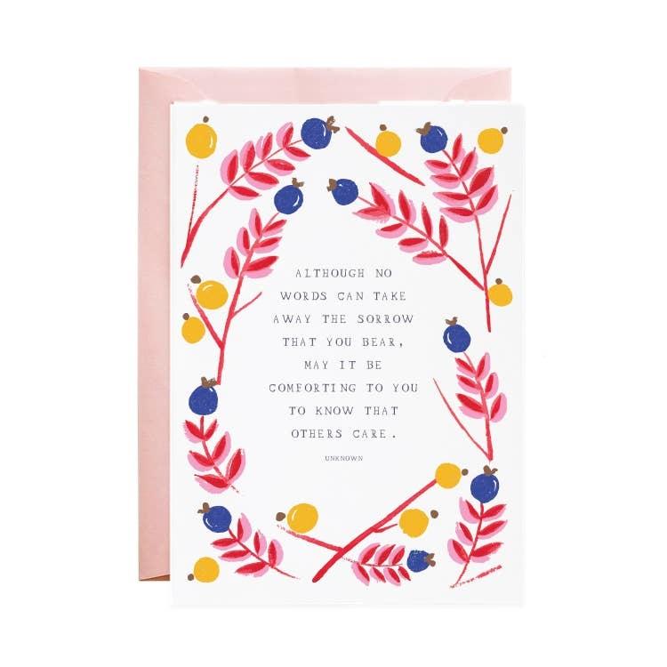Mr. Boddington Cards Sympathy Card