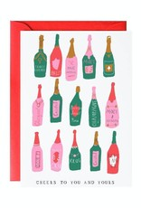 Mr. Boddington Cards Champagne Cheers Card