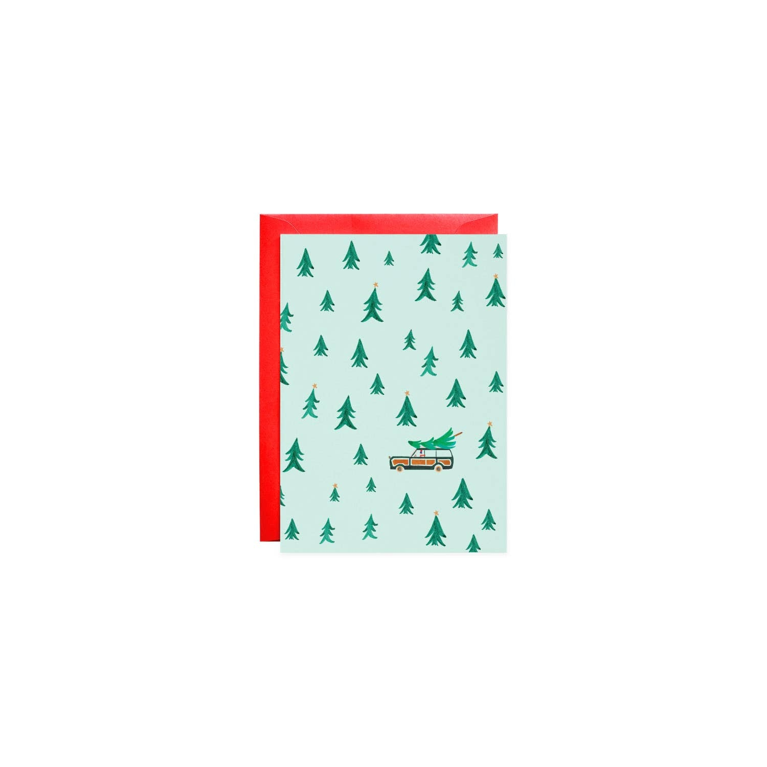 Mr. Boddington Cards Trees Small Holiday Card