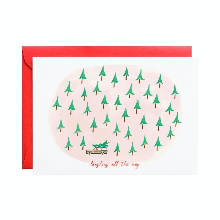 Mr. Boddington Cards Laugh Tree Forest card