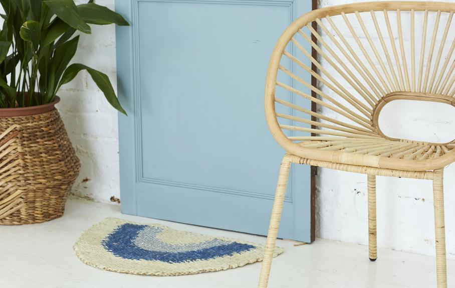 Langdon Ltd Aquarius Half Round Doormat - Multiple Colors