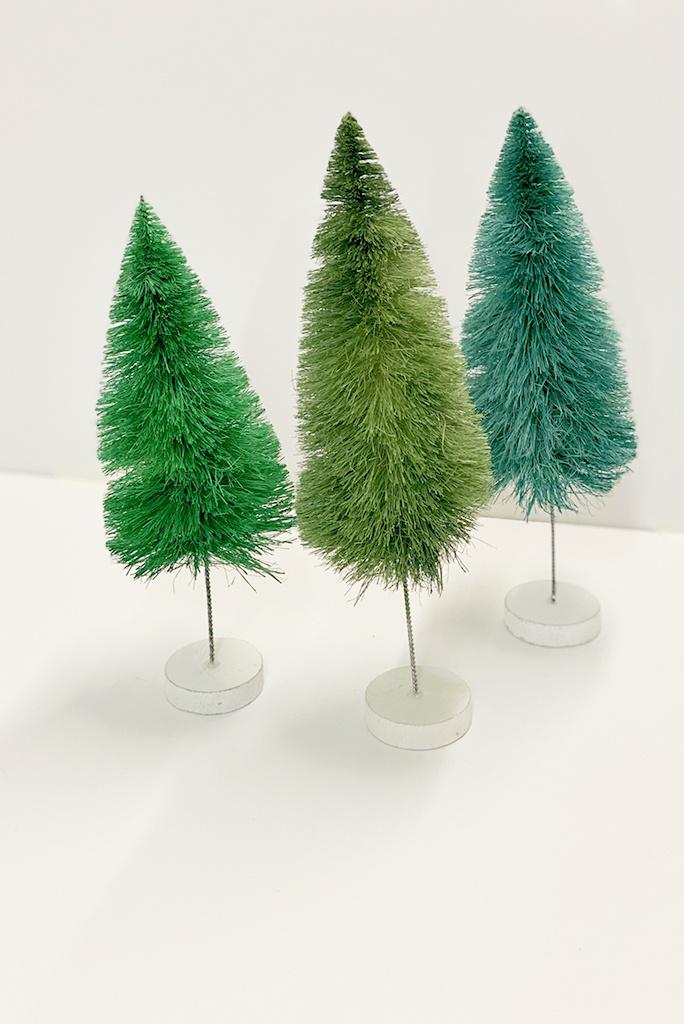 Large Bottle Brush Trees