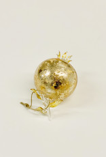 Shimmering Gold Pomegranate Ornament