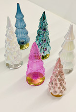 Cody Foster & Co Medium Glass Trees- Multiple Colors