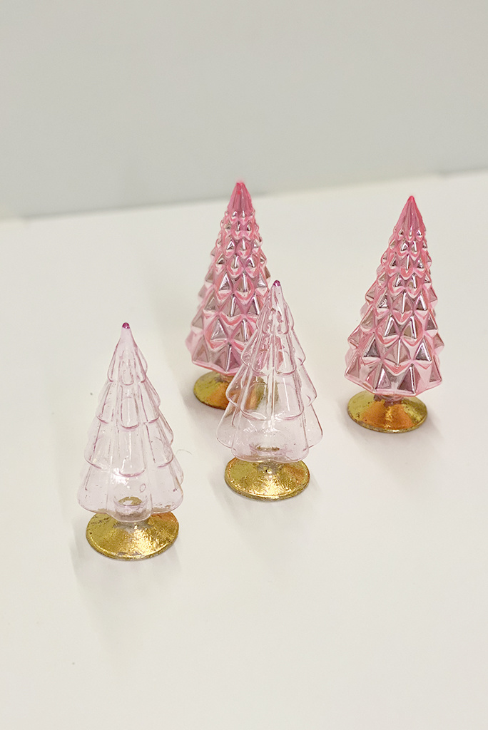 Small Glass Trees