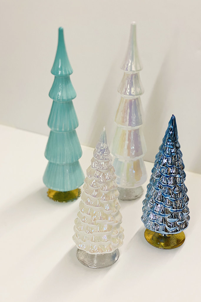 Large Glass Trees - Multiple Colors