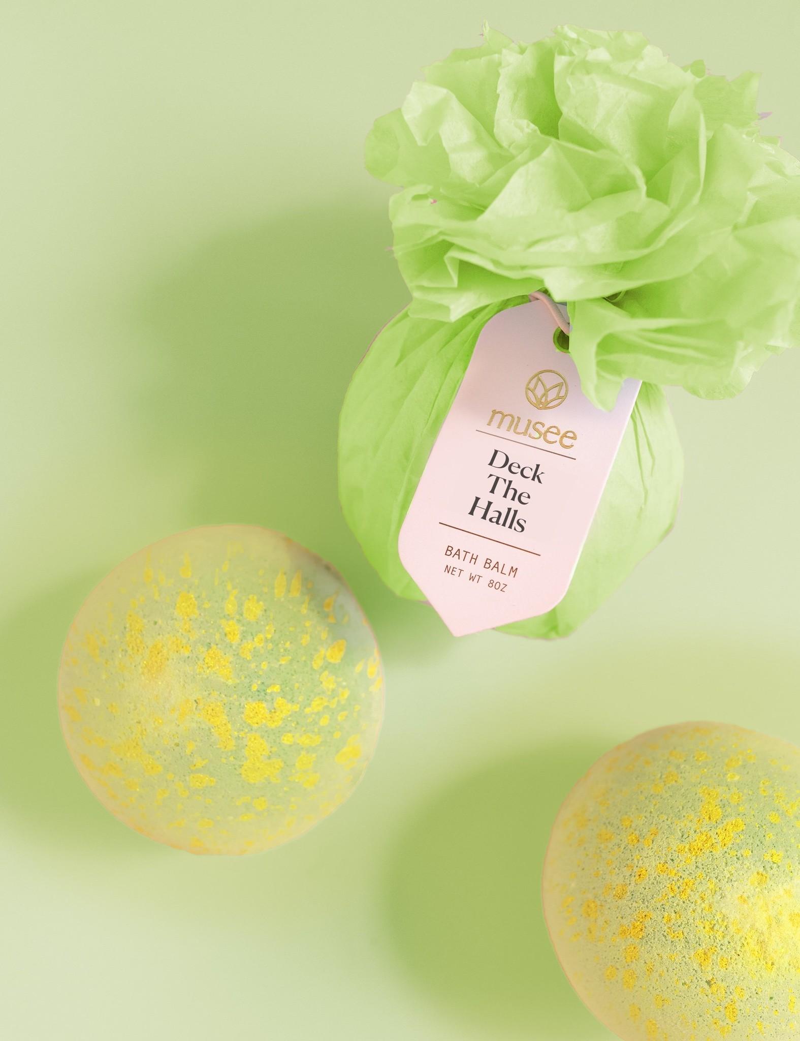 Musee Holiday Bath Balm Balls - Mutiple Flavors