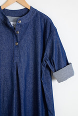 Kate Sheridan Relaxed Denim Slumber Shirt