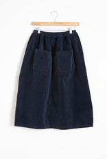Manuelle Guibal Duca Elasticated Velvet Skirt