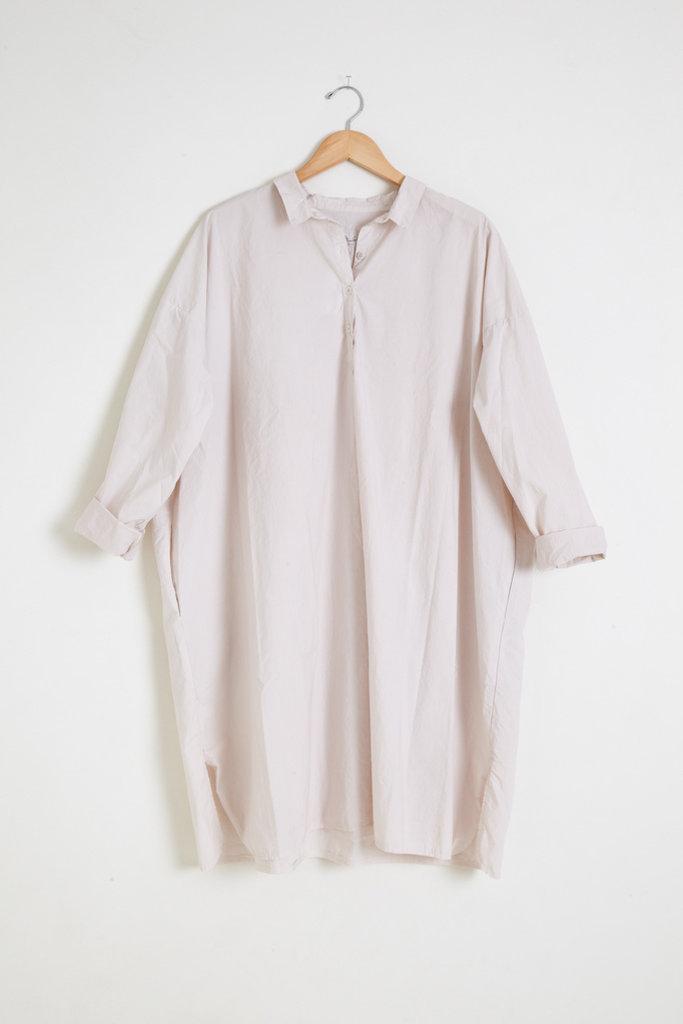 Manuelle Guibal Tino Uni Oversized Tunic in Off White