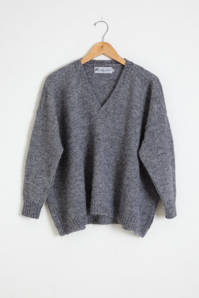 Manuelle Guibal Aga Oversized Alpaca/Silk Blend Sweater