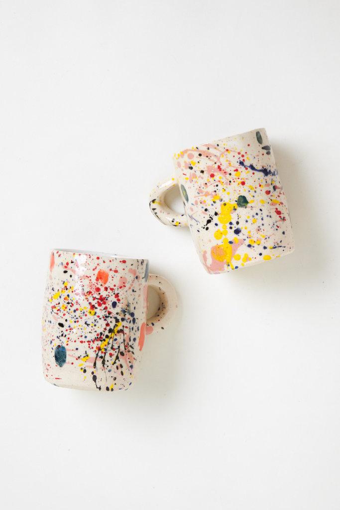 Alice Cheng Studio Splatter Mugs