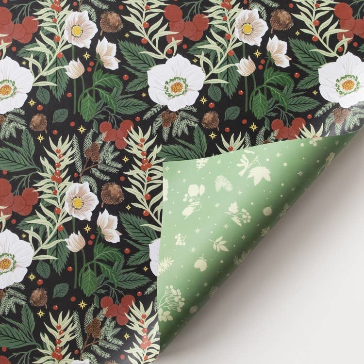 Oana Befort Double Sided Wrapping Paper (Set of 3) - Multiple Patterns