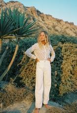 Jane Floral Button Up Cotton Shirt