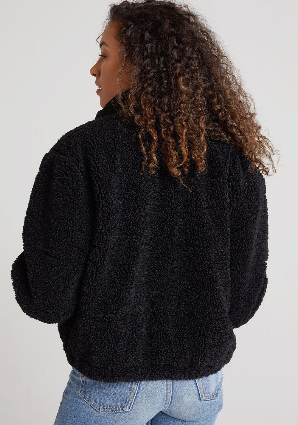 Teddy Puffer Jacket