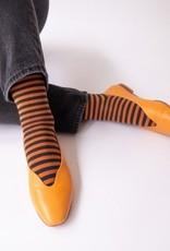 Caramel Striped Socks