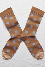Bonne Maison Caramel Dot Socks