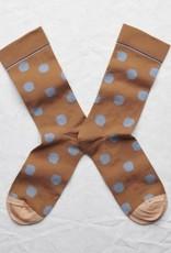 Caramel Dot Socks