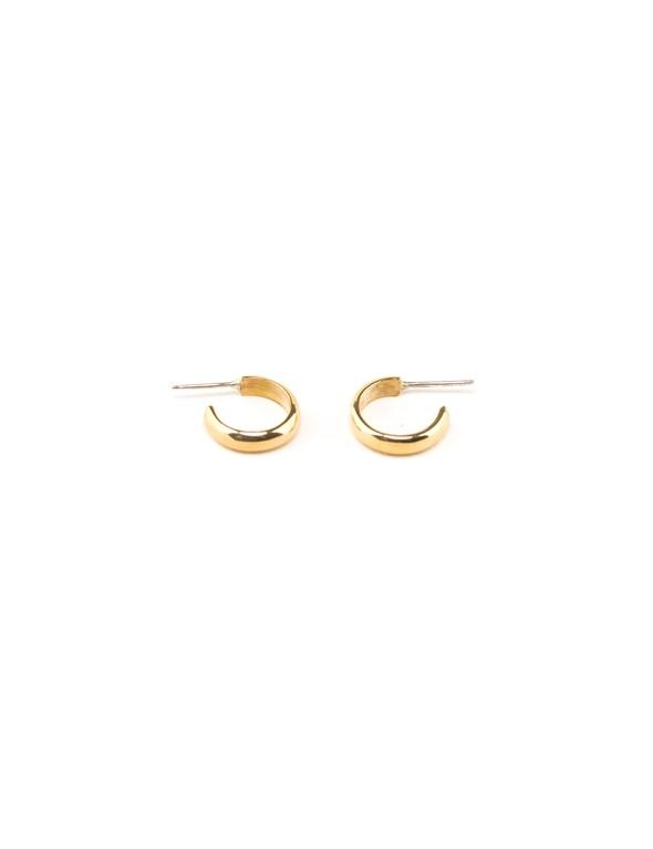 Aries Hoops Gold Plated