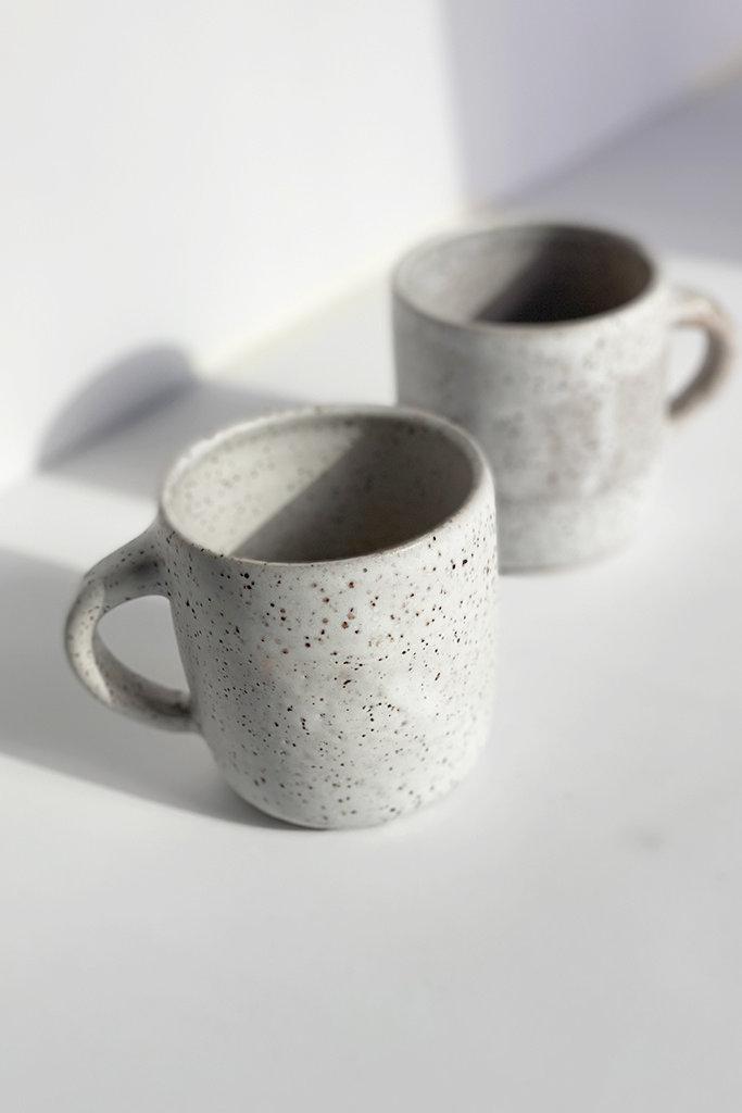 Alice Cheng Studio Speckle Cappuccino Mugs