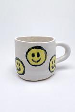 Alice Cheng Studio Large Mini Smiley Face Mugs