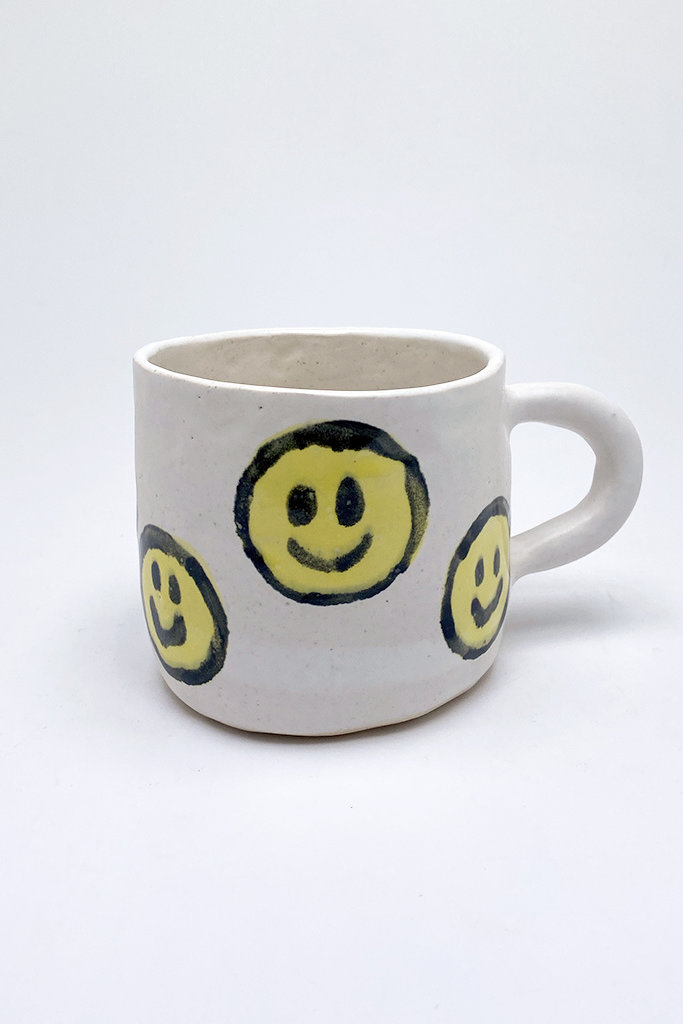 Alice Cheng Studio Large Mini Smiley Face Mug
