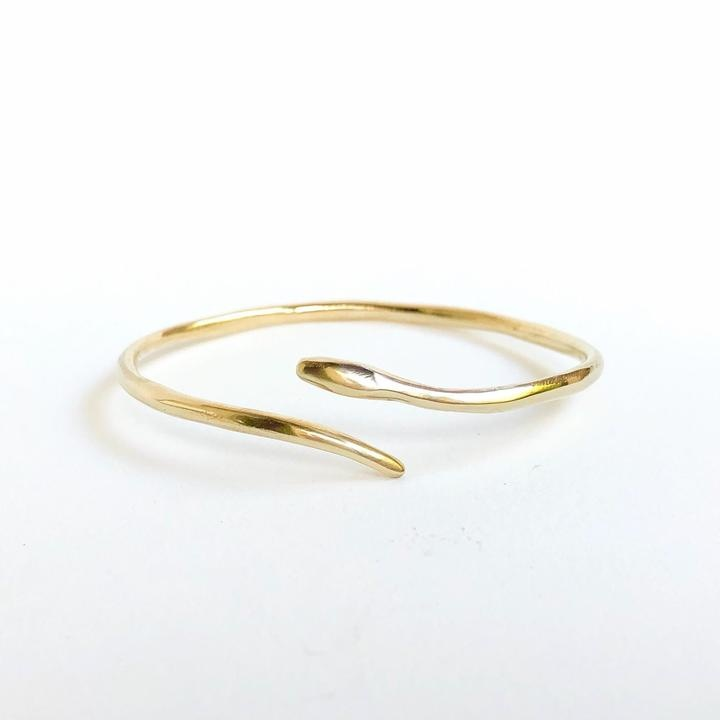 Serpent Brass Cuff