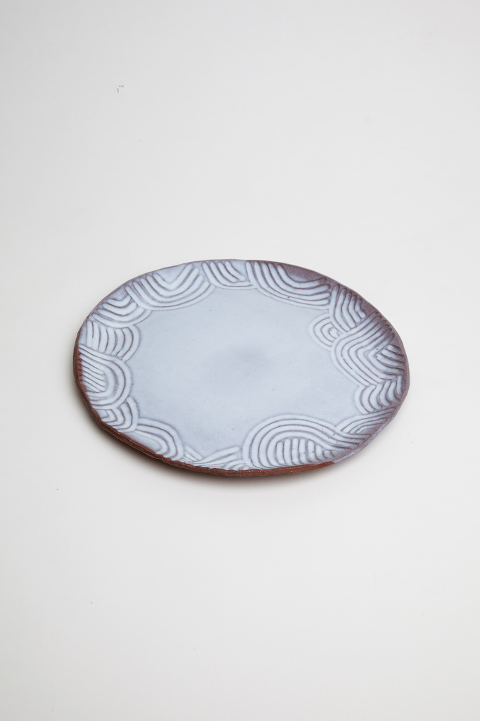 Alice Cheng Studio Large Carved Plates
