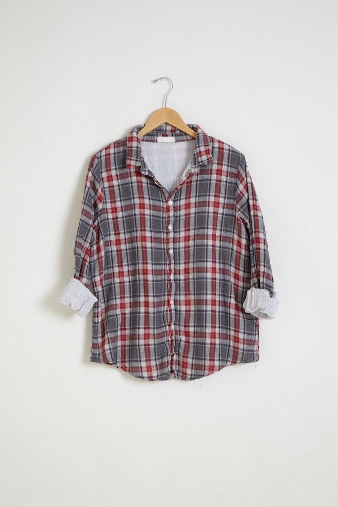 CP Shades Romy Plaid Cotton Shirt - size M