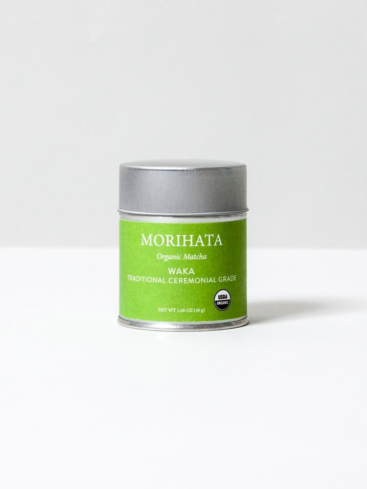 Morihata Organic Matcha - Waka Ceremonial Powdered Tea