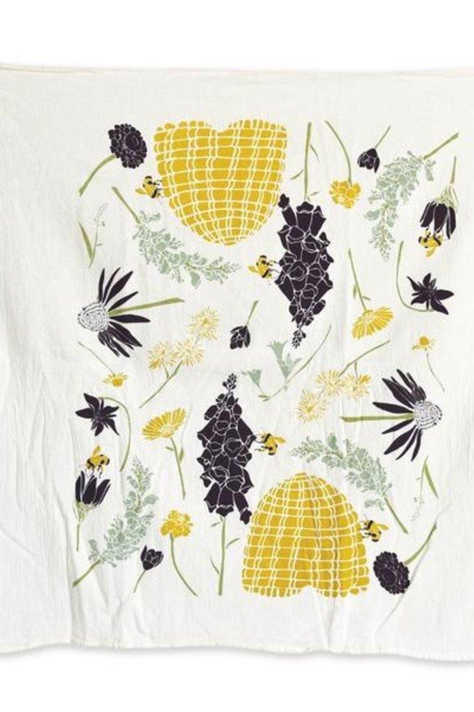 june & december June & December Unbleached Kitchen Towel - Multiple Prints