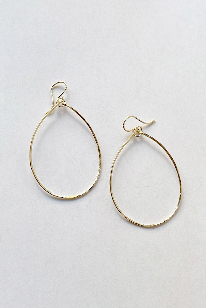 Sonya Renee Perry Hoops Gold Fill Medium