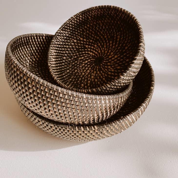 Thrive Market Woven Round Baskets - Multi-Sized