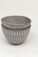 Alice Cheng Studio Carved Soup Bowls