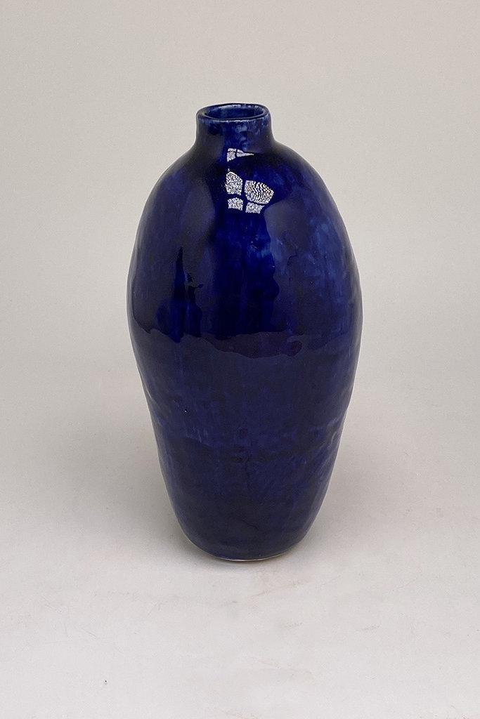 Alice Cheng Studio Cobalt Ghost vase Porcelain
