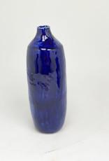 Alice Cheng Studio Cobalt Column Vase Porcelain