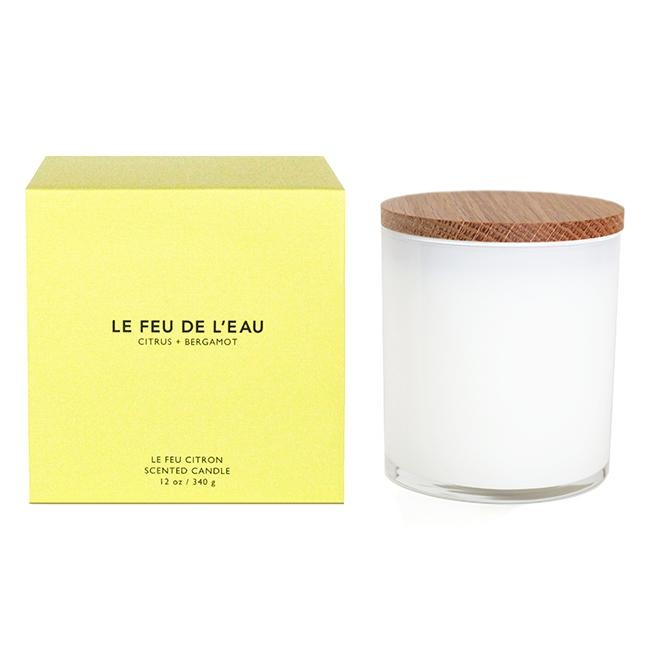 Le Feu Colorblock  Candle - Multiple Scents