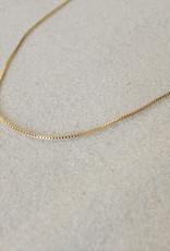 Merewif Wyatt Box Chain Necklace