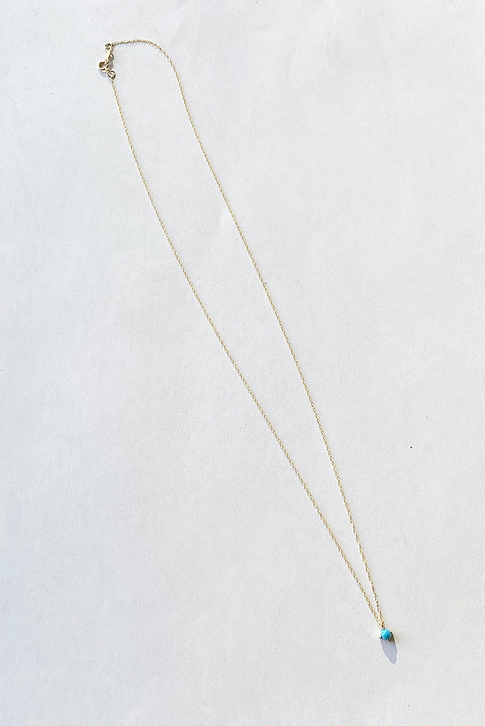 Kristen Elspeth Turquoise Neptune Necklace